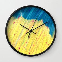 Manorbier Rain Wall Clock