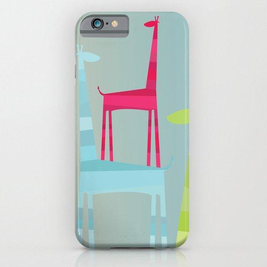 Giraffe Trio iPhone & iPod Case