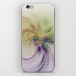 Fall Festive Fractal iPhone Skin