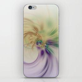 Fall Festive Fractal iPhone Skin