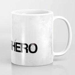 Superhero - gray wallpapers Coffee Mug