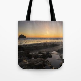 Sunset in Cornwall Tote Bag