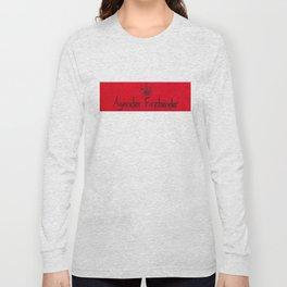 Agender (fire) Long Sleeve T-shirt