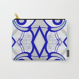 Blue morning - abstract decorative pattern Carry-All Pouch