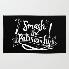 Smash The Patriarchy! Rug