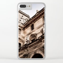 Viewing Gallery (Paris) Clear iPhone Case