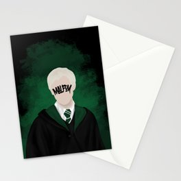 Movie Wizard, Green Stationery Cards