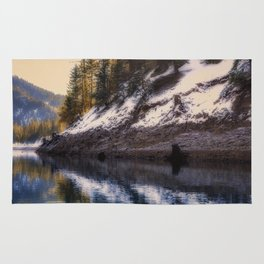Reflections of a Dream Lake McCloud California Rug