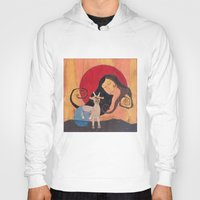 capricorn Hoodies featuring Capricorn by LeaK Arts