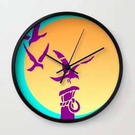 Safe Landing Wall Clock