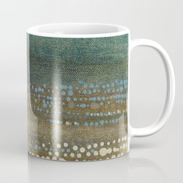 Landscape Dots - Night Coffee Mug