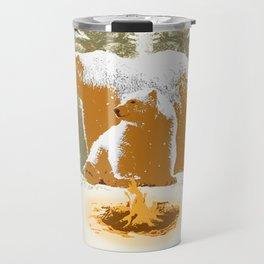 WINTER BEARS Travel Mug