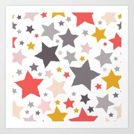 All About the Stars - Style D Art Print