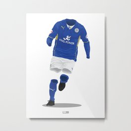 Leicester City 2013/14 - Championship Champions Metal Print