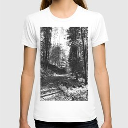 Forest black and white 15 T-shirt