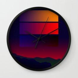 Night Shade Wall Clock