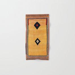 Qashqa'i Fars Southwest Persian Kilim Print Hand & Bath Towel
