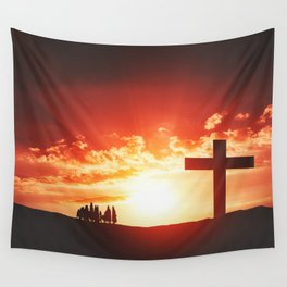 Good friday easter concept Wall Tapestry