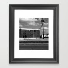 Shadowed Framed Art Print