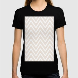 Chevron Wave Gardenia T-shirt