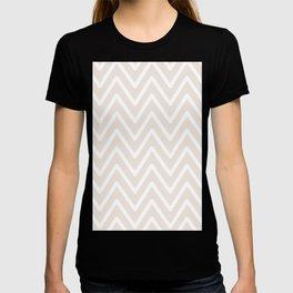 Chevron Wave Gardenia T-shirt