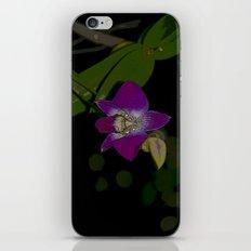 Purple Rain Orchid  iPhone & iPod Skin