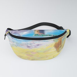 Côte Sauvage at the Atlantic in France. Fanny Pack