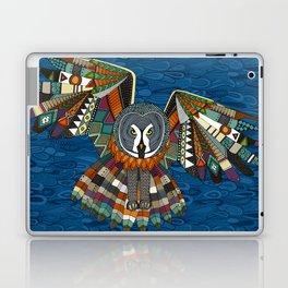 night owl blue Laptop & iPad Skin
