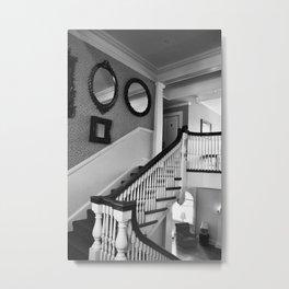 Haunted Hotel Metal Print