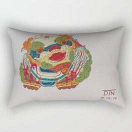 Taiwanese Lion-Dog Rectangular Pillow