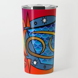 astrology,Cancer Travel Mug