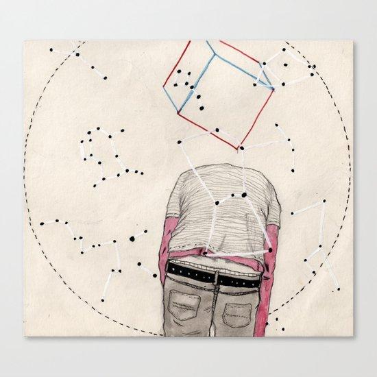 CD Illustration: Universo 2 Canvas Print