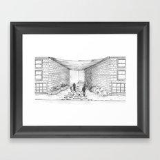 Path home Framed Art Print