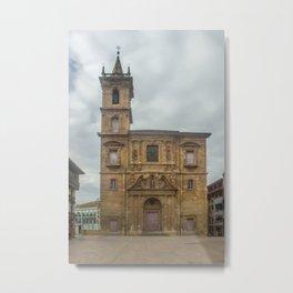 San Isidoro El Real Church, Oviedo Metal Print