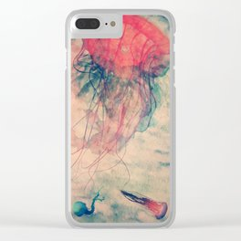 Tentacles Clear iPhone Case