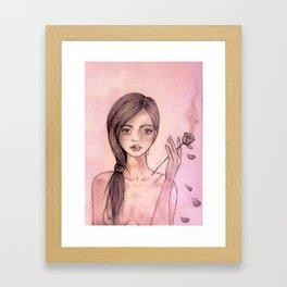 Bocca di Rosa Framed Art Print