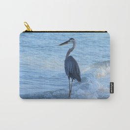 Oceans Great Blue Heron Carry-All Pouch