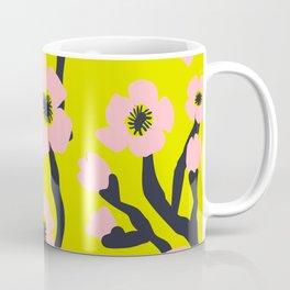 Pink Blooms Everywhere No 03 Coffee Mug