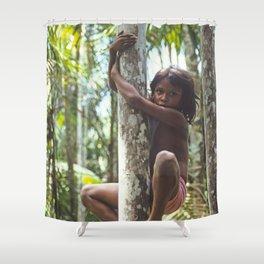 Climbing Trees Shower Curtain