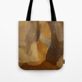 joelarmstrong_rust&gold_69 Tote Bag