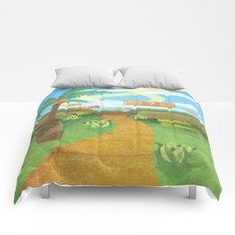 The landscape Comforters