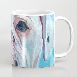 Otis the White Boxer Coffee Mug