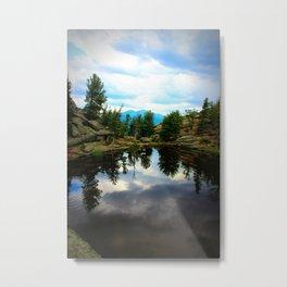Gem Lake Metal Print