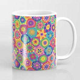 Millefiori-Crayon Colors Coffee Mug