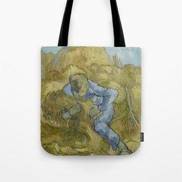 The Sheaf-Binder (after Millet) Tote Bag