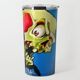 Rock n' Roll Skull Travel Mug