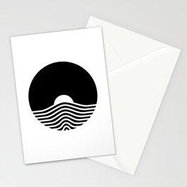 Geometric Sunrise Stationery Cards