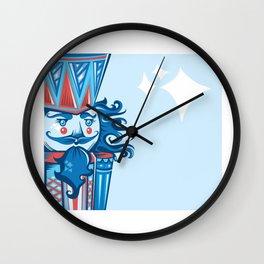 Funky Nutcracker  Wall Clock