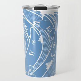 The Ocean is Alive Travel Mug