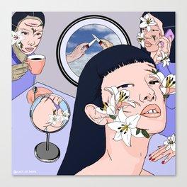 Finite Anesthesia Canvas Print